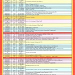 Calendar of events 2016-17