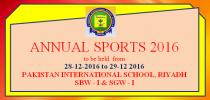 SGW-I: ANNUAL SPORTS 2016