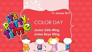 JGW: Colour Day 2016-2017