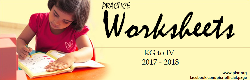 Practice Worksheets (2017-2018)