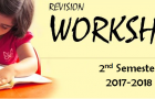 Revision Worksheets (2nd Semester 2017-2018)